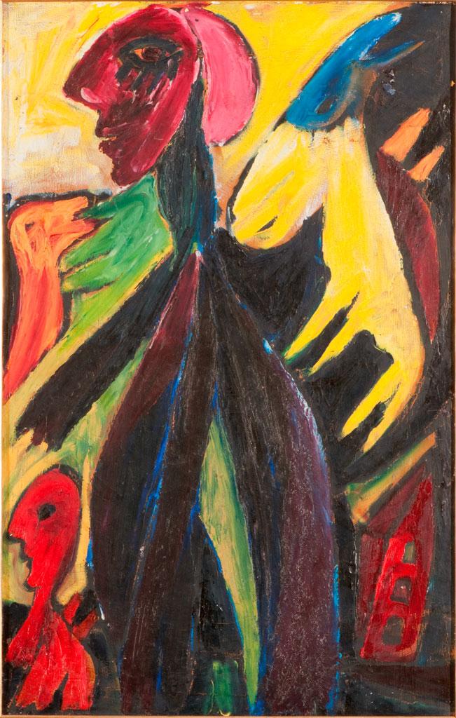 Carl-Henning PedersonÂ's Eventyrbillede (Fairytale Picture), 1943