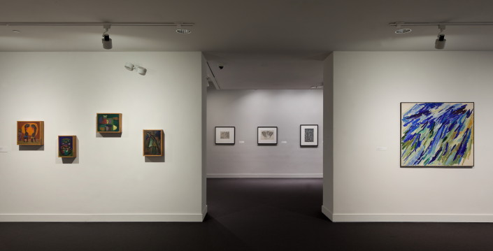 War Horses exhibition on view at NSU Art Museum; photo by Steven Brooke