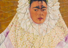 Frida Kahlo Diego on My Mind (Self Portrait as Tehuana), 1943 Oil on masonite The Jacques and Natasha Gelman Collection of 20th Century Mexican Art, courtesy of the Vergel Foundation and the Tarpon Trust © 2015 Banco de México Diego Rivera Frida Kahlo Museums Trust, Mexico, D.F. / Artists Rights Society (ARS), New York