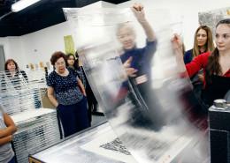 Printmaking-studio