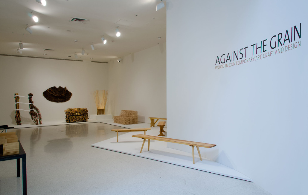 Against The Grain Wood In Contemporary Art Craft And Design Nsu