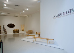 Against The Grain installation view.