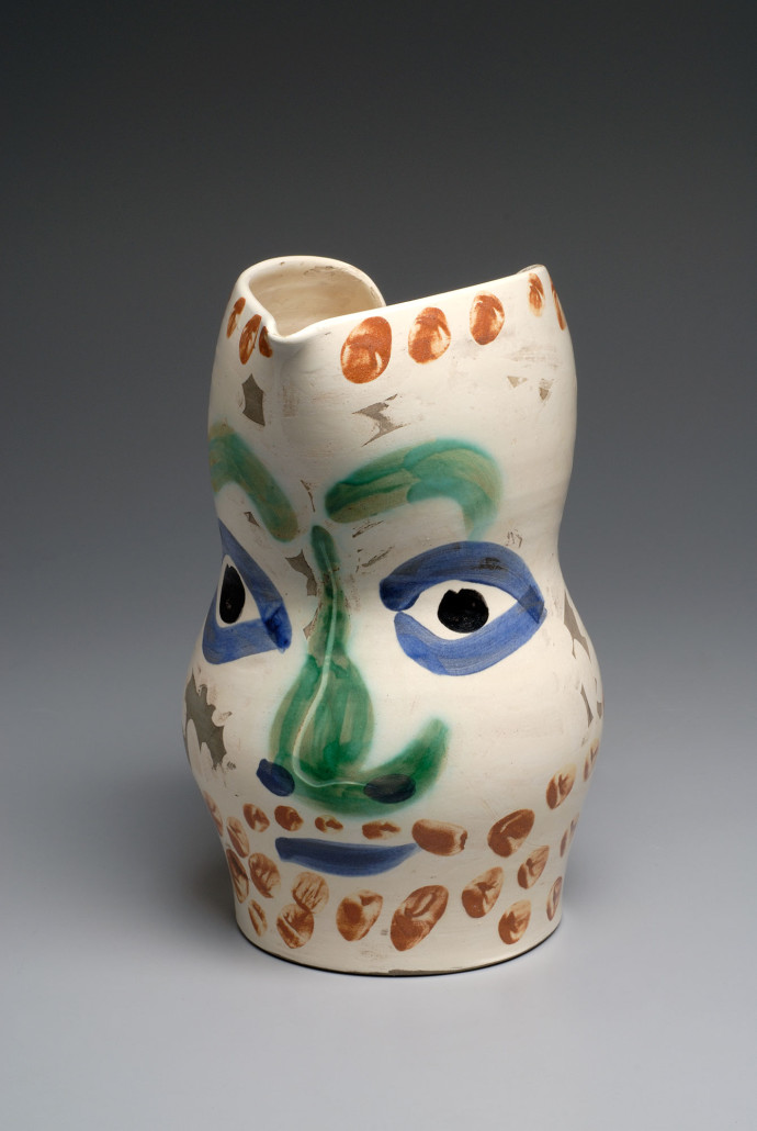 Pablo Picasso Painted Ceramics And Works On Paper 1931