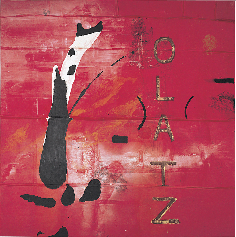 Julian Schnabel; Untitled (Los Patos Del Buen Retiro V), 1990-91