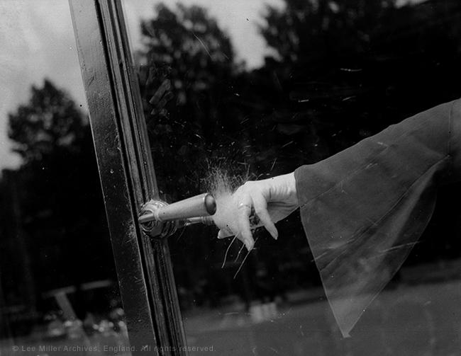 Lee Miller (1907-1977; American), Exploding Hand, c.1930, vintage gelatin silver print © Lee Miller Archives, England 2015. All rights reserved.