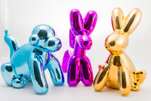Balloon rabbits