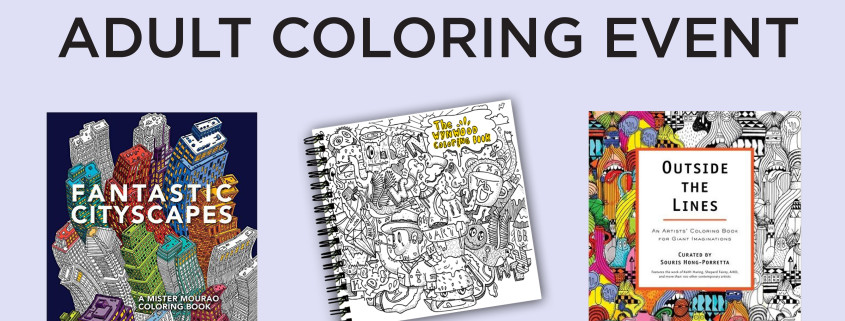 Bring Your Friends And Check Out The Museum Stores Art Themed Array Of Coloring Books Colored Pencils Watercolor Or Own Get