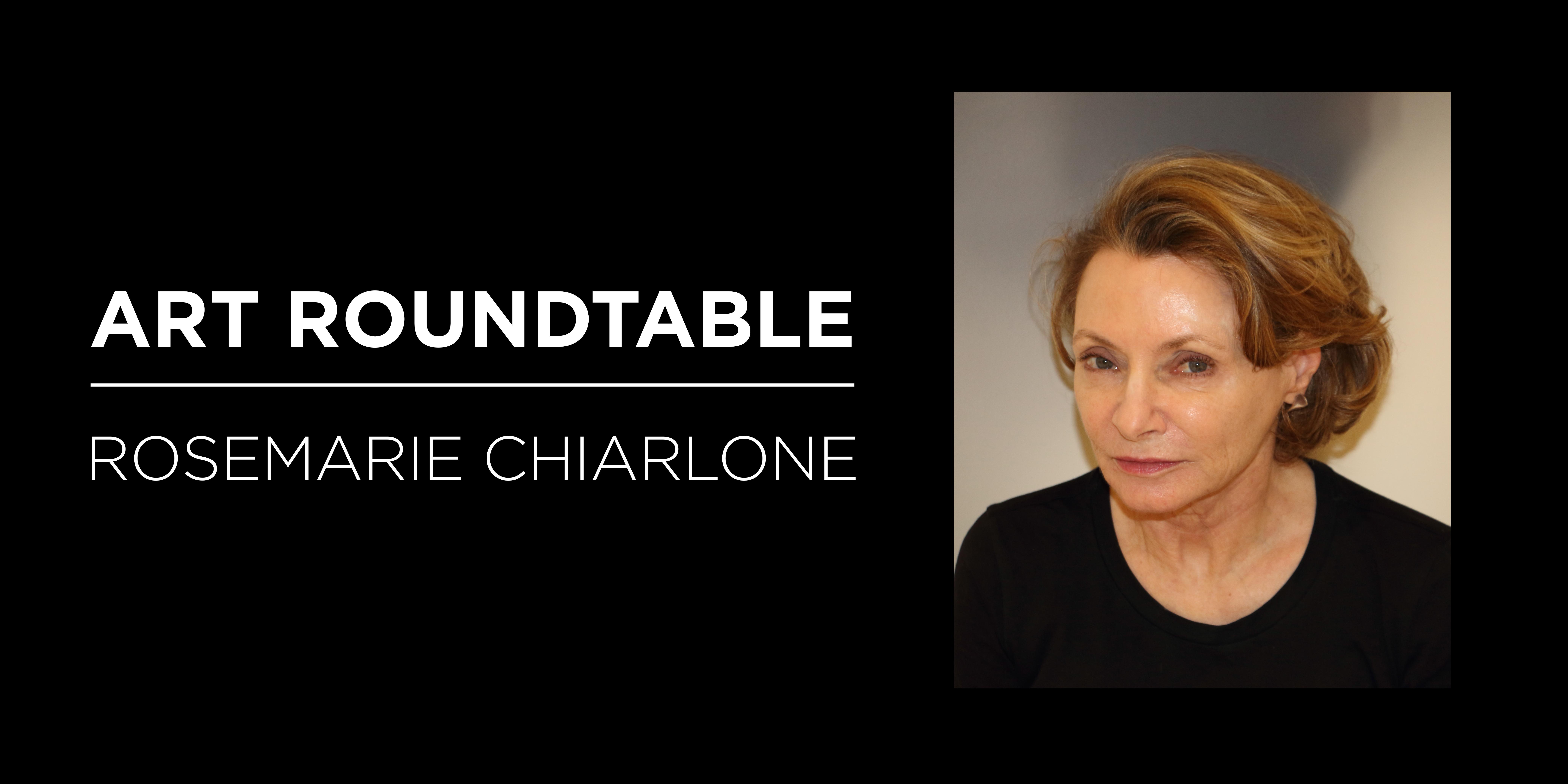 RoseMarie Chiarone Roundtable