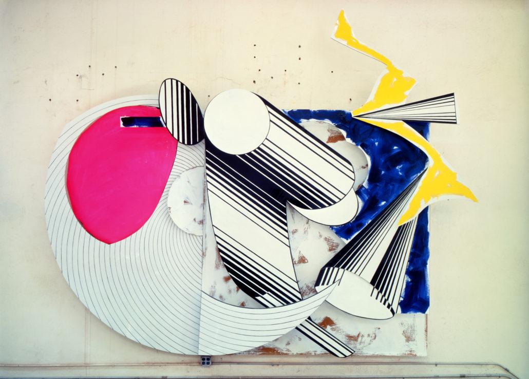 Frank Stella, Diavolozoppo (#2, 4x), 1984