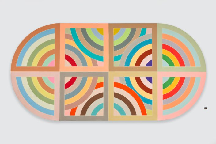 Frank Stella, Hiraqla Variation II, 1968