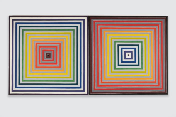Frank Stella Paradoxe sur le comediene, 1974