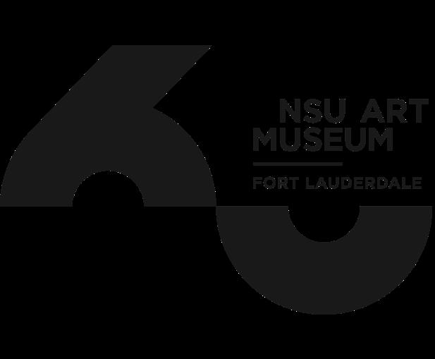 NSU Art Museum 60th Anniversary Logo