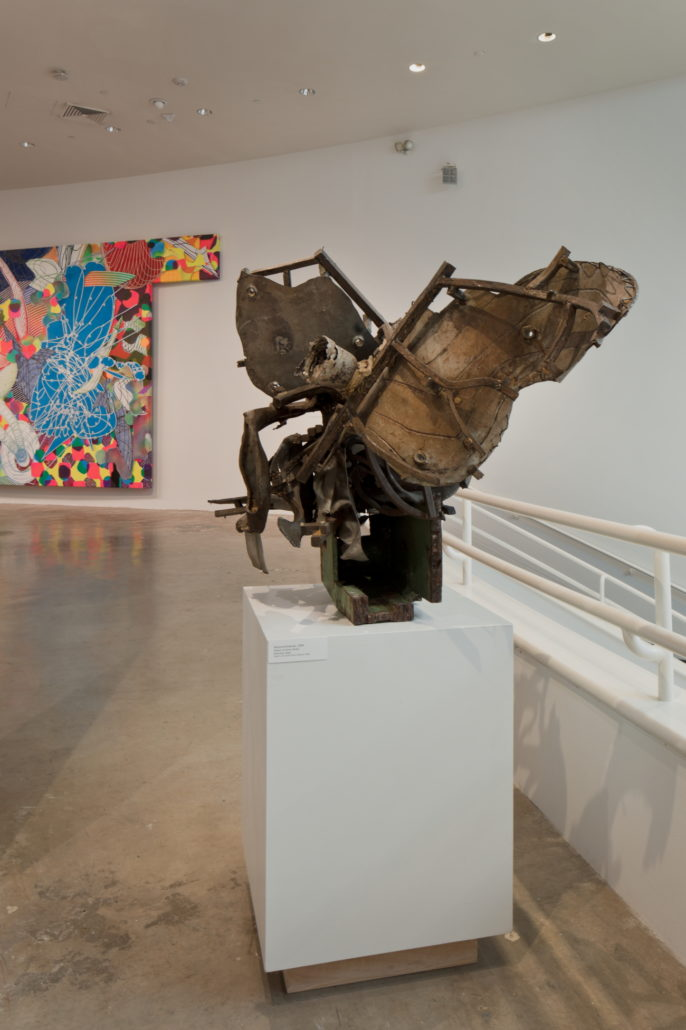 Installation view of Frank Stella: Experiment and Change at NSU Art Museum Fort Lauderdale, Gallery 7, Photo by Steven Brooke