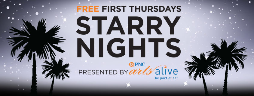 Free First Thursdays Starry Nights presented by PNC Arts Alive
