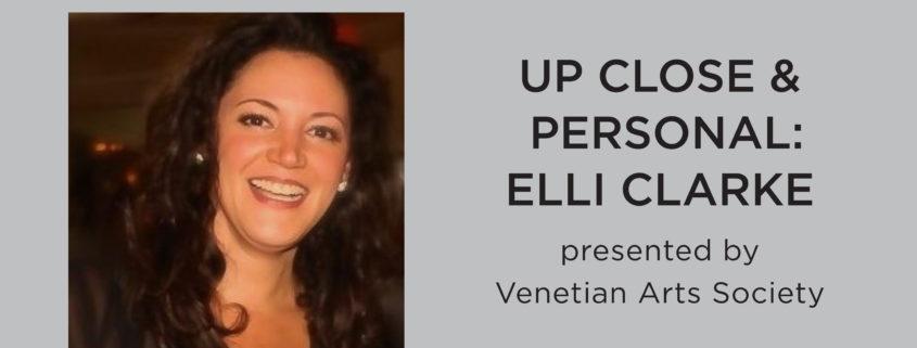 Up Close & Personal: Elli Clarke