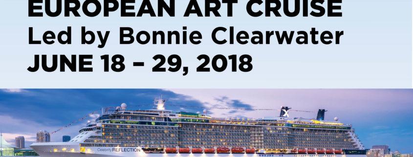 European Art Cruise Led by Bonnie Clearwater June 18-29, 2018
