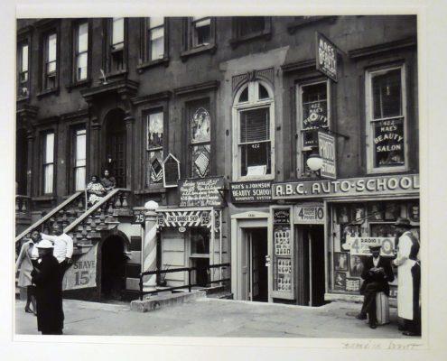 Berenice Abbott Harlem Street II, 1936 Gelatin silver print NSU Art Museum Fort Lauderdale