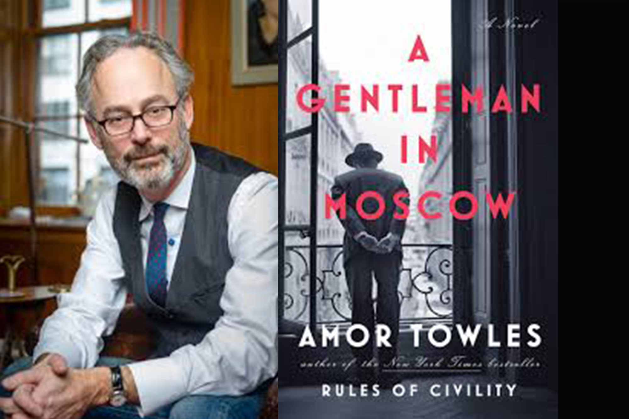 Cafe Society Book Discussion Group: A Gentleman in Moscow by Amor Towles