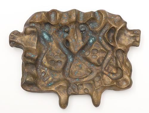 Ejler Bille, Large Mask (Store maske), 1944, Bronze, NSU Art Museum Fort Lauderdale; Cobra Collection; gift of Golda and Meyer Marks, M-235
