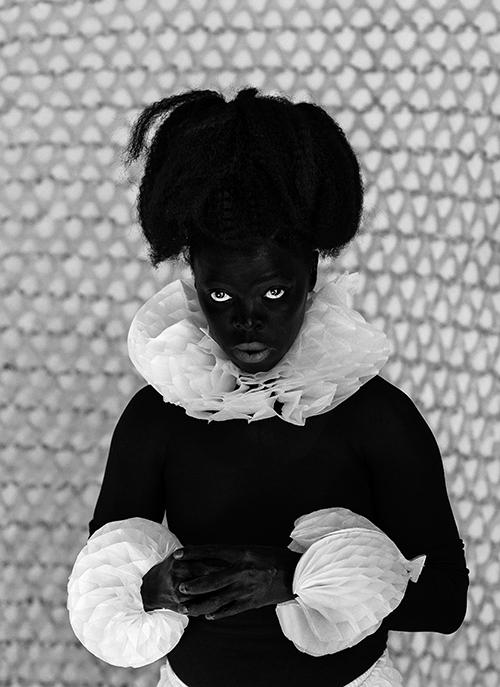 Zanele Muholi Thuleleni, Bijlmer, Amsterdam, from the Somnyama Ngonyama series, 2017 Gelatin silver print NSU Art Museum Fort Lauderdale; purchased with funds provided by Michael and Diane Bienes by exchange, 2018.2 © Zanele Muholi. Courtesy of Stevenson, Cape Town/Johannesburg and Yancey Richardson, New York