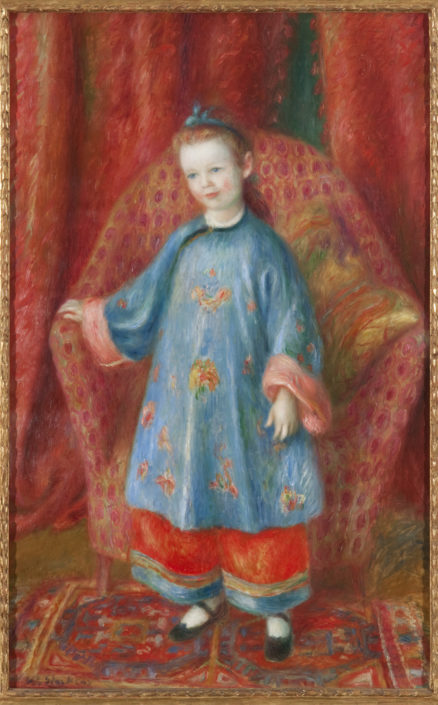 William J. Glackens, Artist's Daughter in Chinese Costume, 1918, oil on canvas, NSU Art Museum Fort Lauderdale; gift of the Sansom Foundation, 92.28