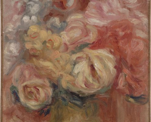 Pierre-Auguste Renoir, Flowers (detail), 1915-1919, Oil on canvas, Dallas Museum of Art, gift of Mrs. Leslie Waggener in memory of Leslie Waggener 1957.64