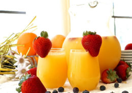 Mimosas and Berries