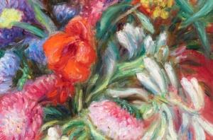 Aguste Renior flowers detail