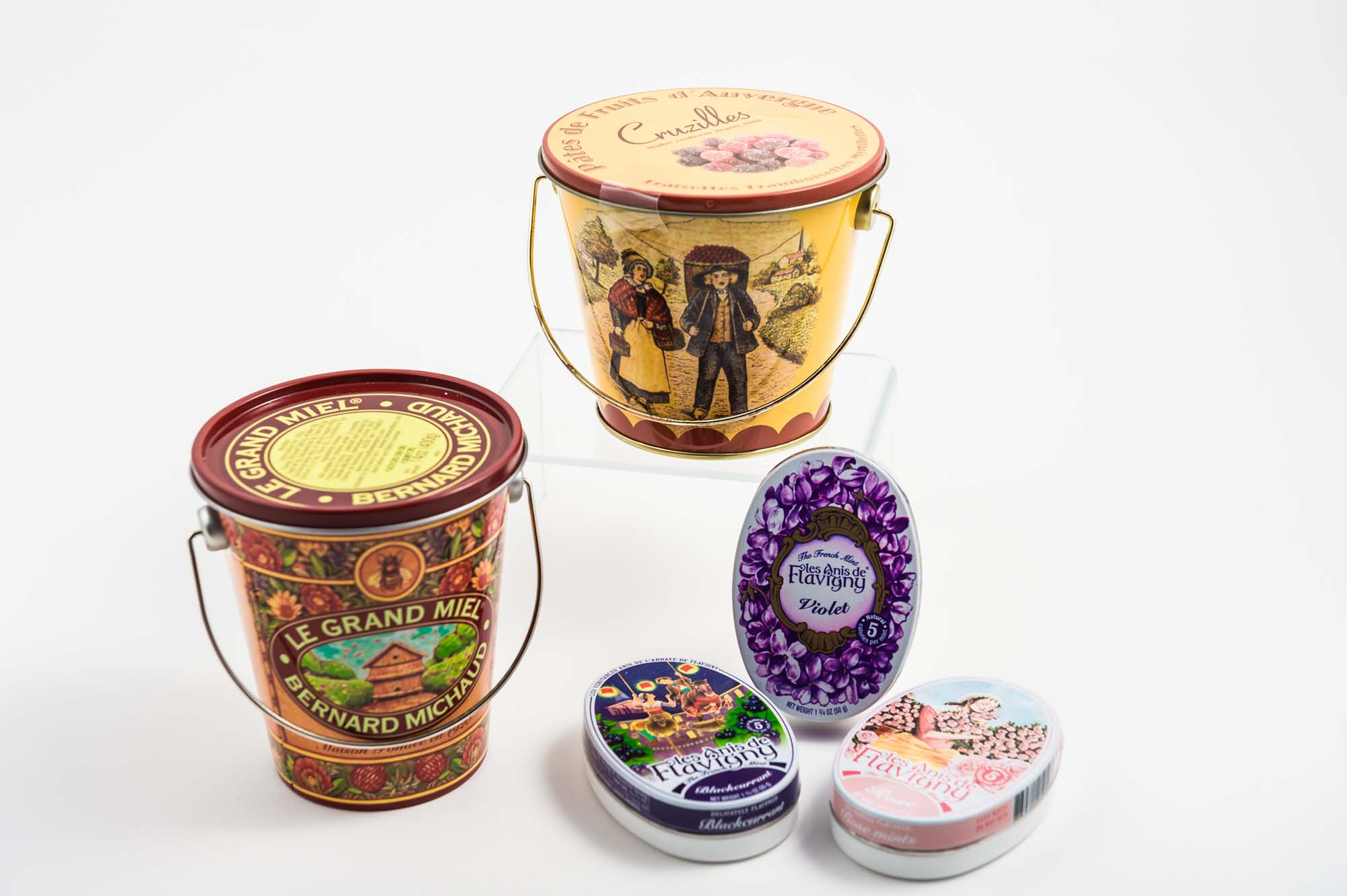 French Treats in Keepsake Tins