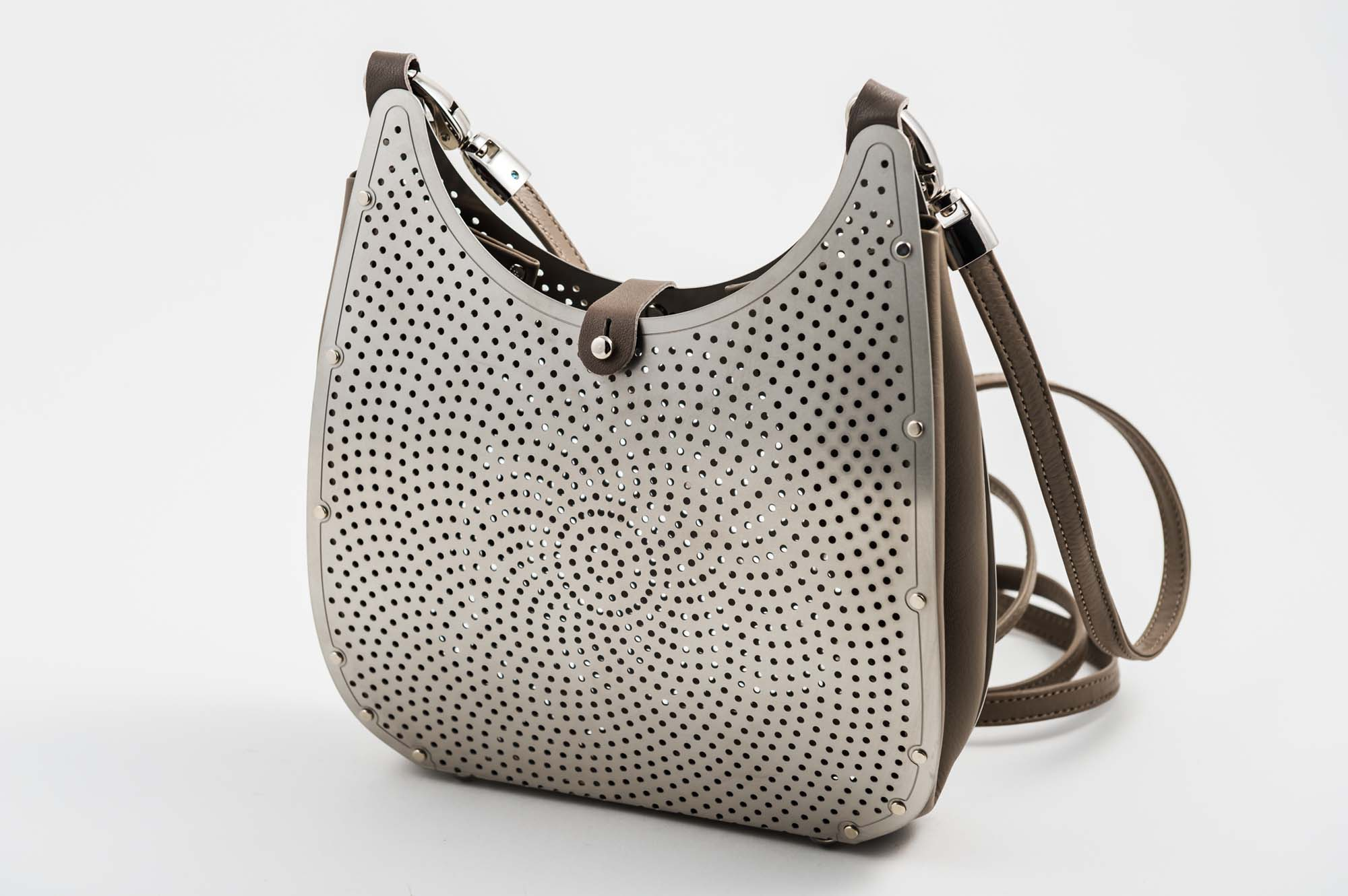 Wendy Stevens Purse - Stainless Steel