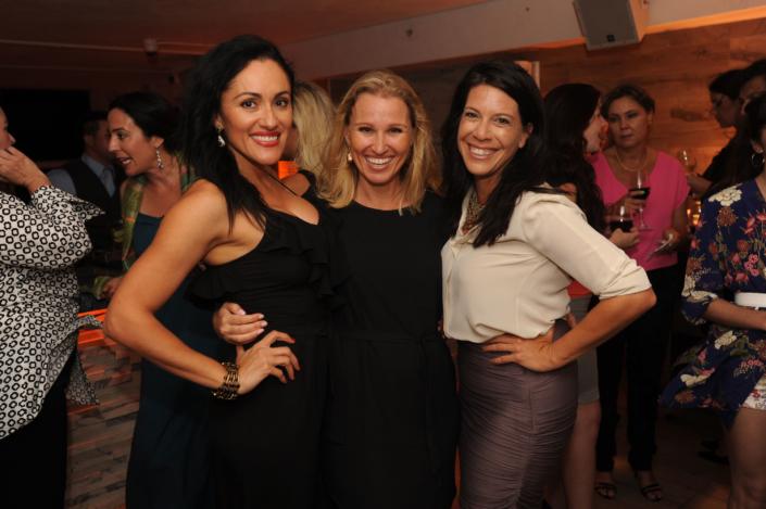 Roxanne Zinn, Louise Sanda, and Onni Vosdoganes