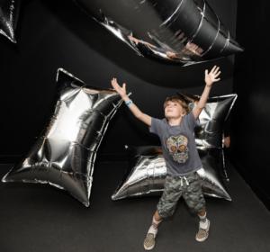 Boy in Warhol Room