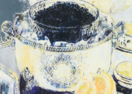 Enoc Perez Caviar, 2007 Oil on canvas Object: 81 in x 75 in / 205.74 cm x 190.5 Hall Collection. Courtesy Hall Art Foundation. © Enoc Perez
