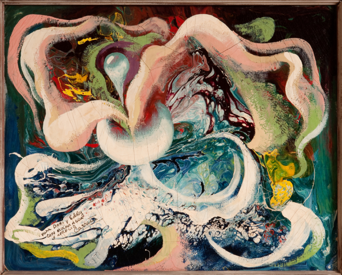 Mario Carreño Morales Agua (Water), 1947. NSU Art Museum Fort Lauderdale; promised gift of Stanley and Pearl Goodman
