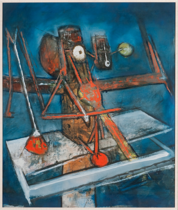 Roberto Matta The Prophet, 1948. NSU Art Museum Fort Lauderdale; promised gift of Stanley and Pearl Goodman