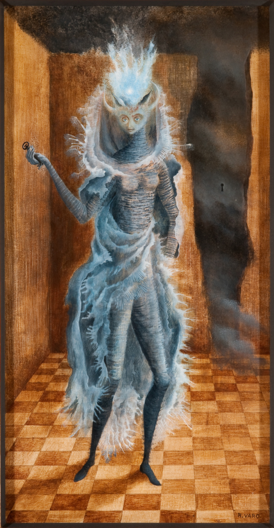 Remedios Varo El minotauro (The Minotaur), 1959. NSU Art Museum Fort Lauderdale; promised gift of Stanley and Pearl Goodman