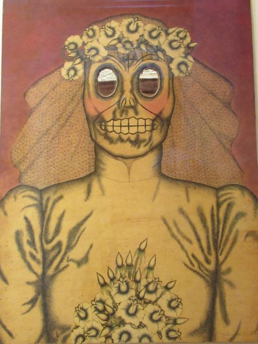 Nahum Zenil Echando el Ajo, 1990. NSU Art Museum Fort Lauderdale; promised gift of Stanley and Pearl Goodman