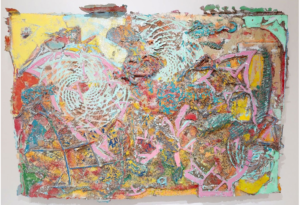 Frank Stella, Hacilar Level III, 2000. NSU Art Museum Fort Lauderdale; gift of Dick and Jane Stoker