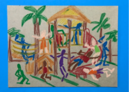 Hands-On Art Activity for Kids, NSU Art Museum Fort Lauderdale