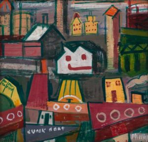 Esther Phillips, Happy Face House, late 1940s - early 1950s. Private Collection of Renée and Richard Goldman