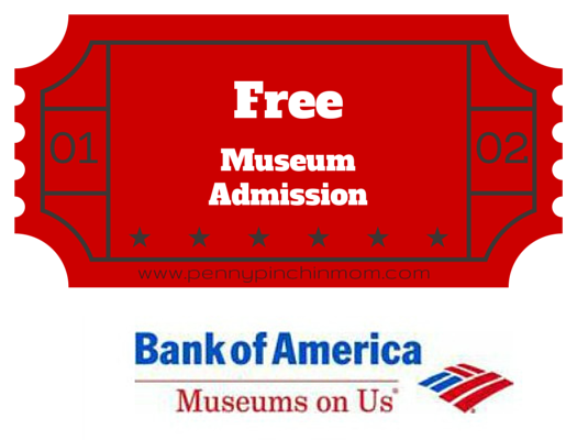 Bank of America Free Museum Admission