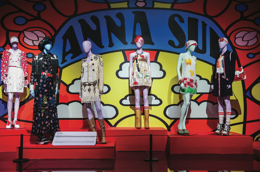 The World of Anna Sui at The Modern Art Museum Shanghai, 2020. Courtesy The Modern Art Museum Shanghai.