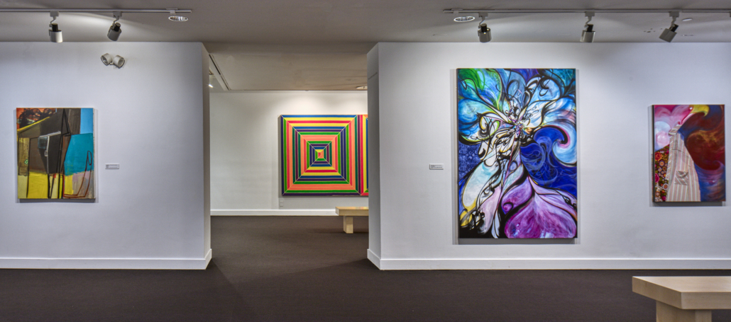 Installation image of Lineages: Works from the Collection