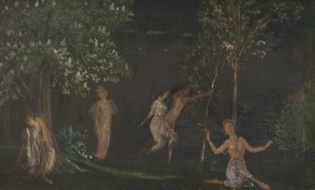 Arthur Bowen Davies, A Night in Spring, n.d. Courtesy of the GAJ ARTRUST#2