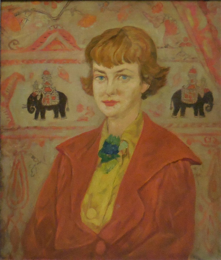 William J. Glackens; Louis M. Glackens, Portrait of Lenna, c. 1930s. NSU Art Museum Fort Lauderdale