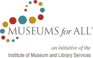 museums for all logo with tagline rgb